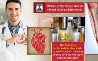 Custom Biodegradable Stents Developed Using 3D Printed Prototypes