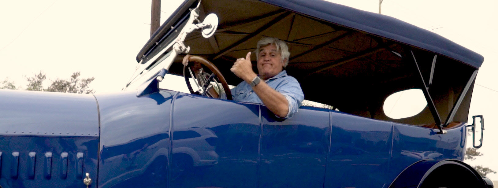 Jay Leno's Garage Achieves Antique Car Replacement Part for